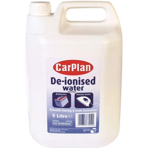 Carplan De-Ionised Water 5L - DIW005