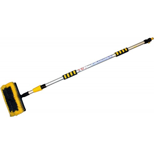 Rolson 61010 Water Fed Wash Brush 2m Telescopic