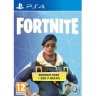 Fortnite Bomber Skin + 500 V-Bucks PS4