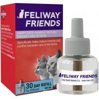FELIWAY Friends 30 Day Refill, helps to reduce conflict in multi-cat households, helping cats get along better, 48 ml