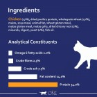 Purina ONE Adult Cat Food Chicken & Wholegrains, 6kg
