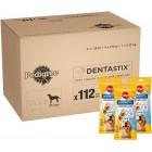 Pedigree Dentastix - Daily Dental Care Chews, Large Dog Treats from 25kg+ 112 Sticks