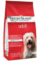 Arden Grange Adult Chicken and Rice, 12 kg Complete Dog Food