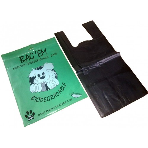Bag Em Bio Dog Poo Bags (Pack of 50) Biodegradable
