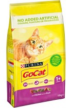 Go Cat Complete Vitality Plus Chicken & Duck Cat Food 10kg