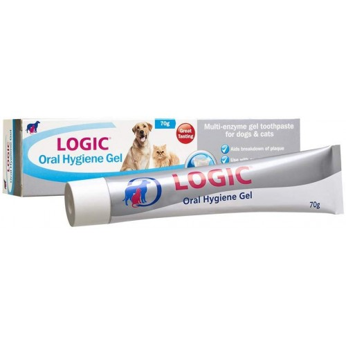 LOGIC Oral Hygiene Gel 70g for Dogs & Cats Small