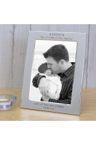 DADDY Our 1st Father's Day together Silver Plated Photo Frame