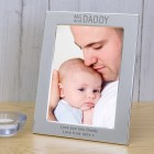 ME and DADDY Silver Plated Photo Frame