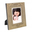 Mummy Our 1st Christmas Wood Frame 6x4