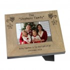 Family Name Wood Frame - 6x4