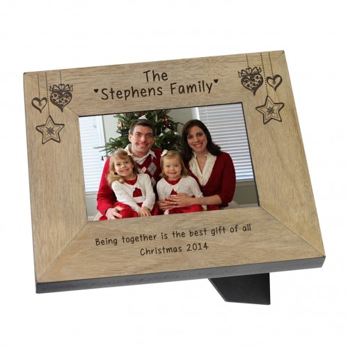 Family Name Wood Frame - 6x4