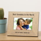 Wood Frame 7x5 - Best ... in the World
