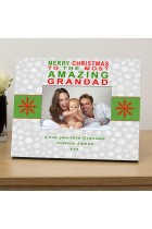 Merry Christmas to...personalised photo frame