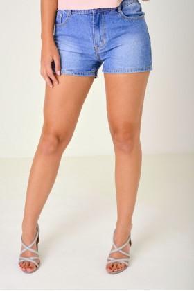 Denim Shorts in Blue