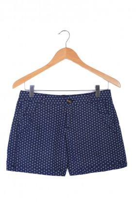 Navy Mid Rise Shorts
