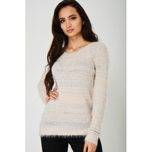 Soft Touch Knit Fluffy Jumper