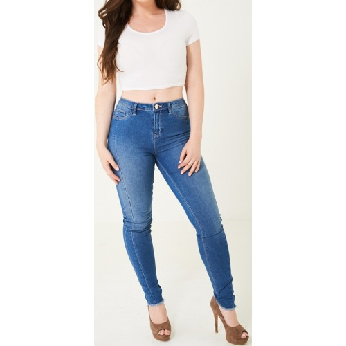 High Waist Jeggings Blue