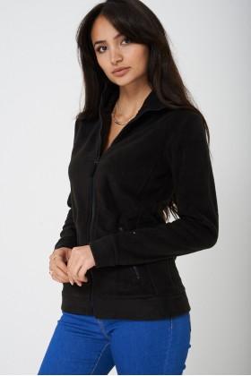 Black Fleece Outdoor Jacket