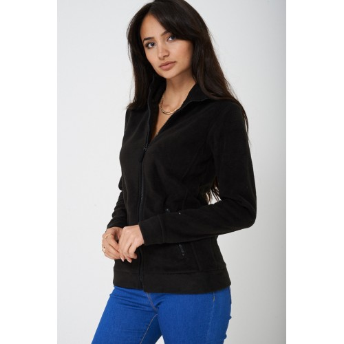 Black Fleece Outdoor Jacket