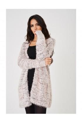 Women's Fluffy Fine Knit Cardigan