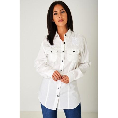 Longline Off-White Shirt