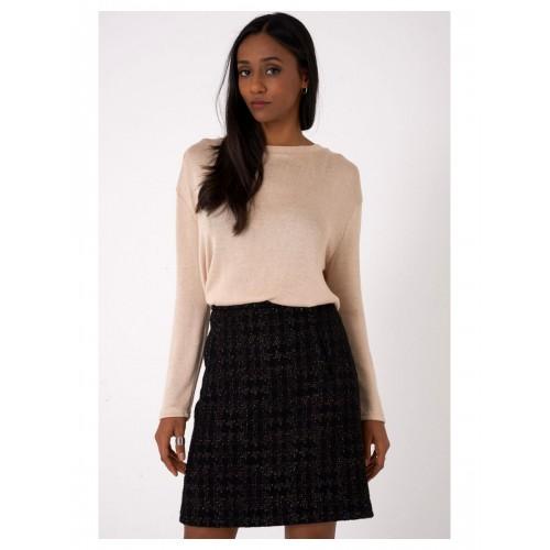 Lightweight Knitted Beige Top