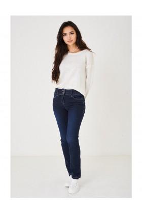 Ladies Straight Leg Indigo Jeans