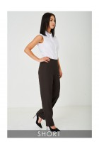80's Inspired Ladies Wide Leg Trousers Tailored