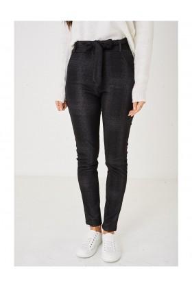 Ladies Black Trousers High Waist