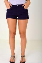Denim Shorts in Navy