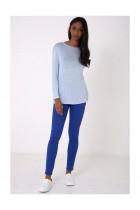 Lightweight Knitted Blue Top