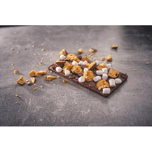 Honeycomb Smores Chocolate Bar