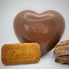 Biscoff Chocolate Hearts