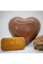 Biscoff Chocolate Hearts