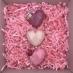 Luxury Chocolate Love Heart Trio