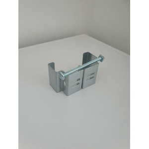 """Concrete Fence Post Fix Brackets For Hanging Anything No Drilling Heavy Duty 4""""x4"""""""