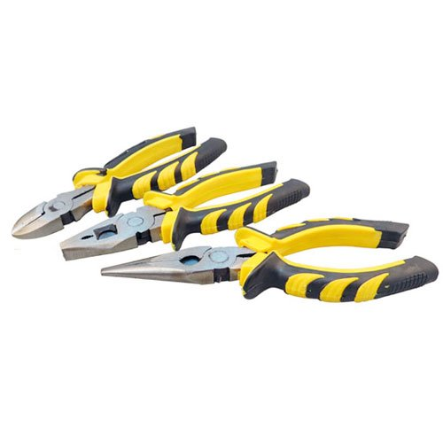 3 Pieces Soft Grip Pliers Set
