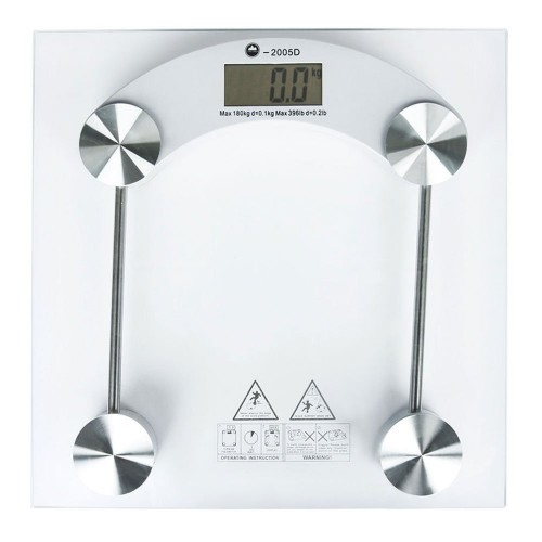 180KG Digital Bathroom Scales - Glass