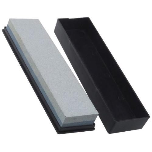 Double Side Knife Sharpening Sharpener Oil Wet Stone Whetstone 120 240 Grit Block