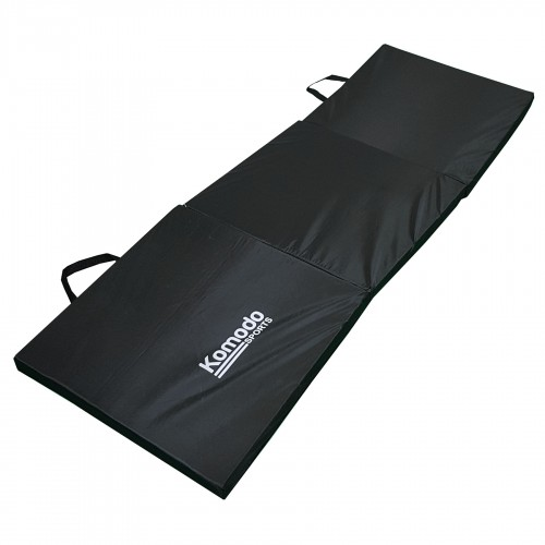 Komodo Tri Folding Gym Mat Black
