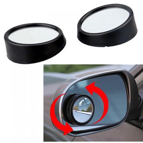 2x Convex Blind Spot Mirrors