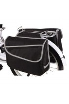 Bicycle Double Rack Pannier - Black