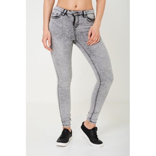 Grey Wash Skinny Jeans Ex Brand