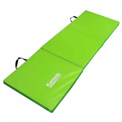 Komodo Tri Folding Gym Mat Green