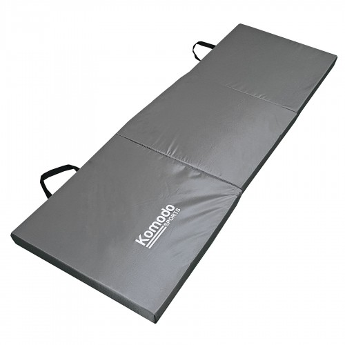 Komodo Tri Folding Gym Mat Grey