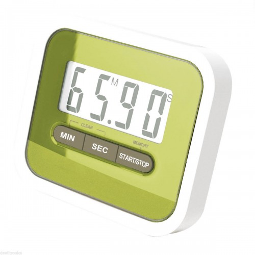 Tekbox Magnetic Kitchen Timer - Green