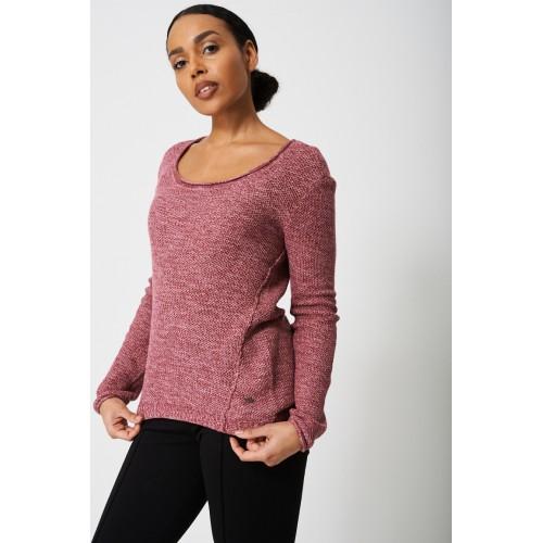 Cotton Jumper In Pink