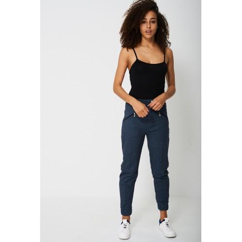 Regular Fit Sweat Pant In Blue