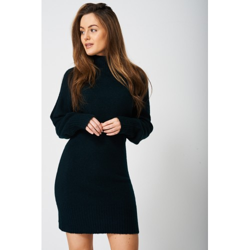 Jumper Dress with Volume Sleeve