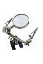 Helping Hand Magnifying Glass & Clamp Stand